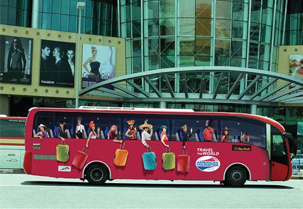 Busdoor Sidebus Mídia OOH
