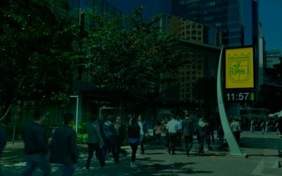 5 motivos para anunciar em relógio de rua