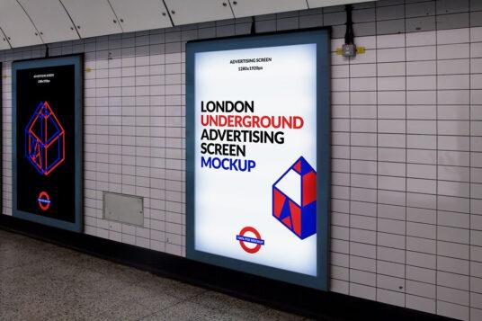 Publicidade em metro