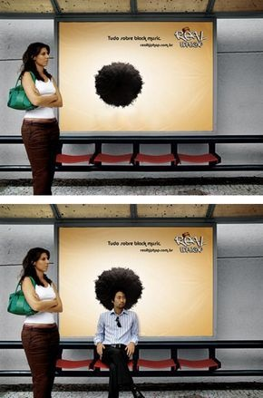Publicidade no Ponto de Ônibus
