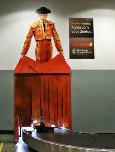 Publicidade em Aeroporto