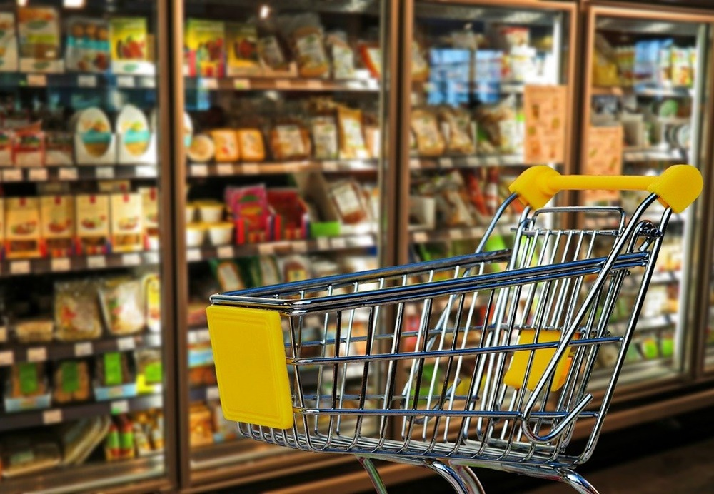 Supermercado midia ooh
